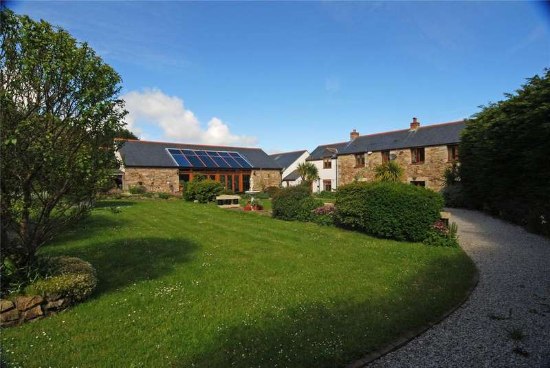 4 Bedrooms Detached House for sale in Goonearl, Scorrier, Cornwall