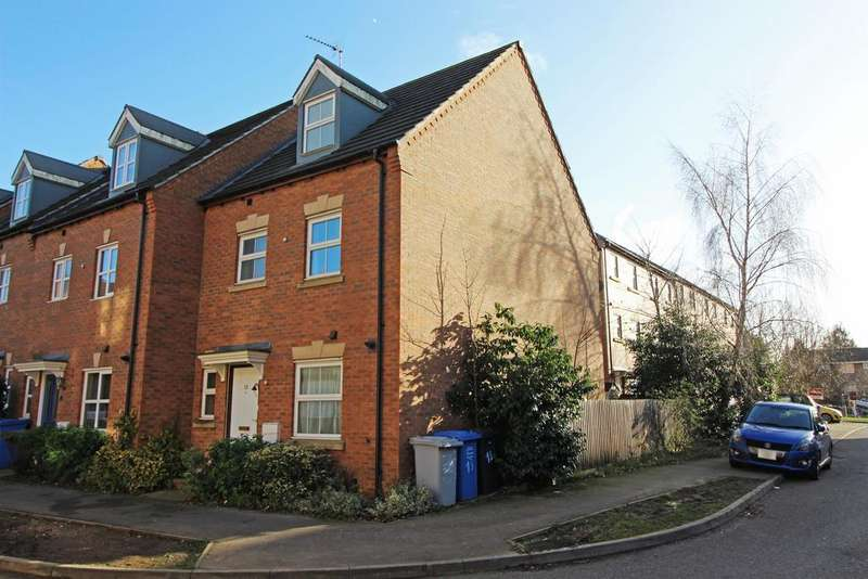 4 Bedrooms End Of Terrace House for sale in Bellway Close, Kettering , Northants, NN16 9EH