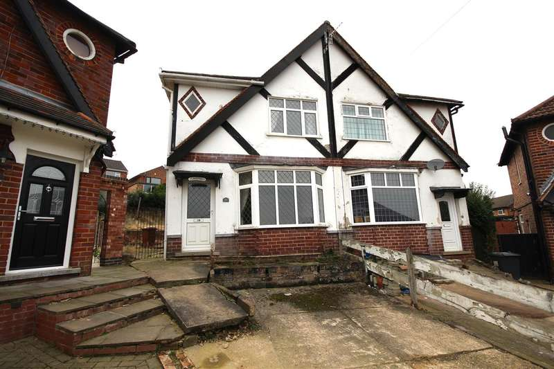 3 Bedrooms Semi Detached House for sale in Norman Crescent, Ilkeston