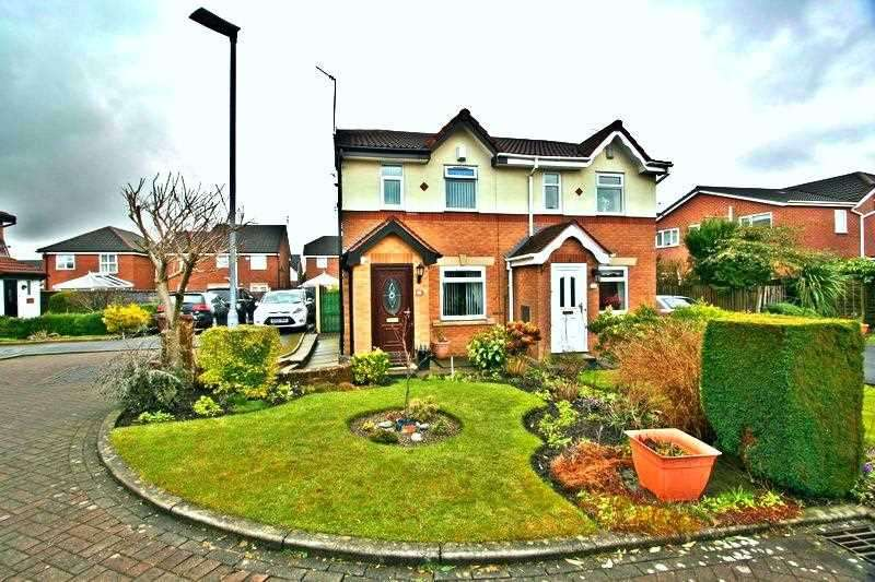 2 Bedrooms Semi Detached House for sale in Cherwell Close, Whitefield