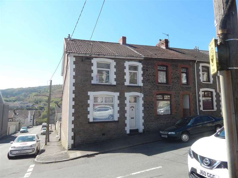 3 Bedrooms End Of Terrace House for sale in Upton Street, Porth