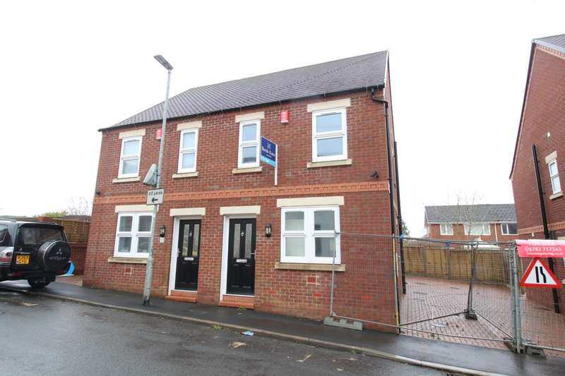 2 Bedrooms Semi Detached House for sale in Samuel Street, Packmoor, Stoke-On-Trent, ST7
