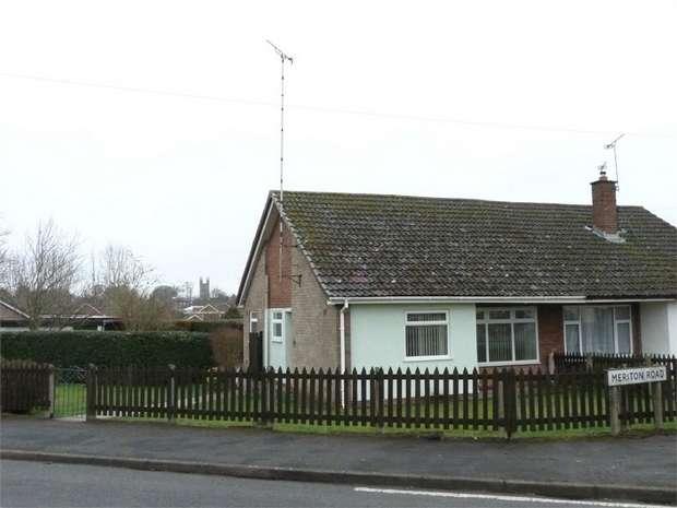 2 Bedrooms Semi Detached Bungalow for sale in Lutterworth