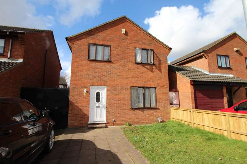 4 Bedrooms Detached House for rent in Walcourt Road, Kempston, Bedford, MK42