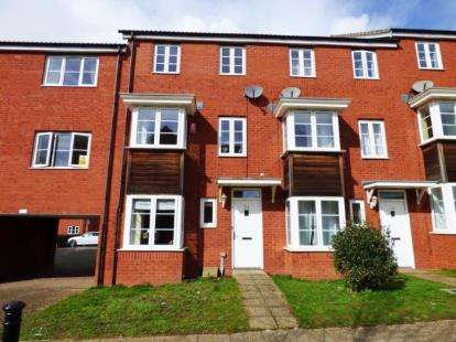 4 Bedrooms Terraced House for sale in Exeter