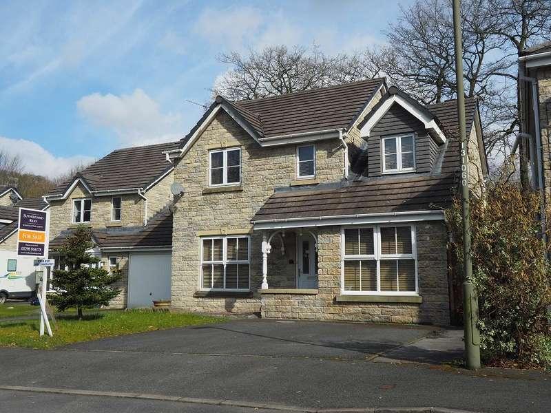 4 Bedrooms Detached House for sale in Burnside Avenue, Chapel-en-le-Frith, High Peak, Derbyshire, SK23 0BA
