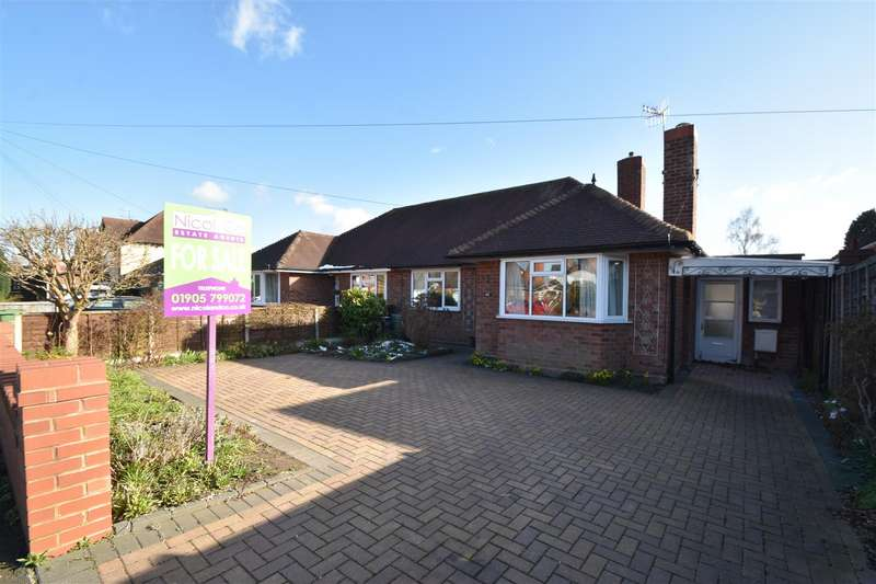 2 Bedrooms Semi Detached Bungalow for sale in Oakland Avenue, Droitwich