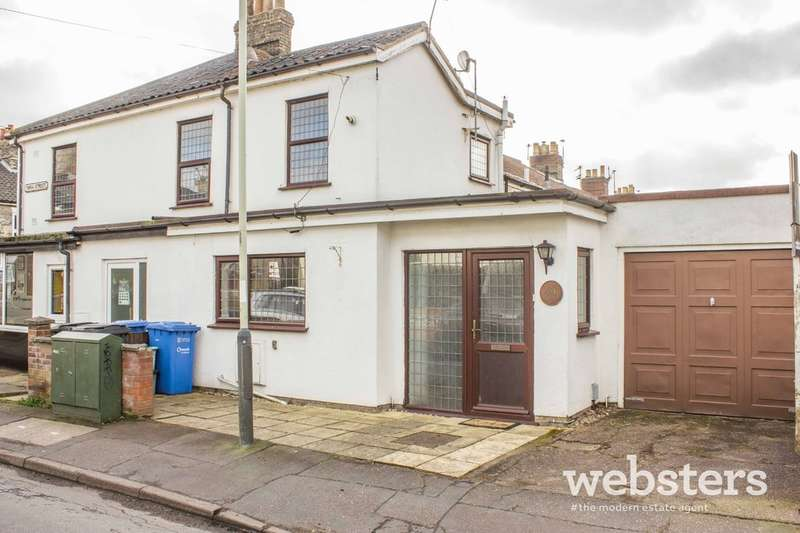 2 Bedrooms End Of Terrace House for sale in Newmarket Street, Norwich NR2
