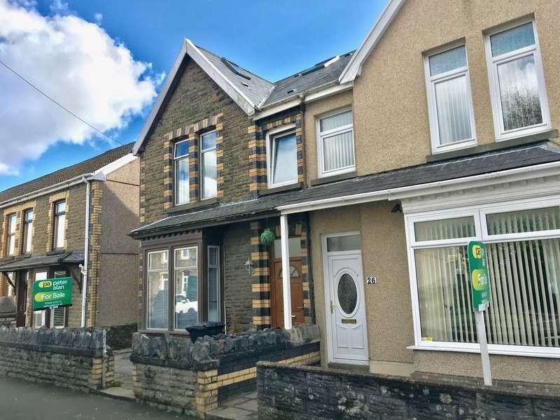 4 Bedrooms Semi Detached House for sale in Cardonnel Road, Skewen, Neath