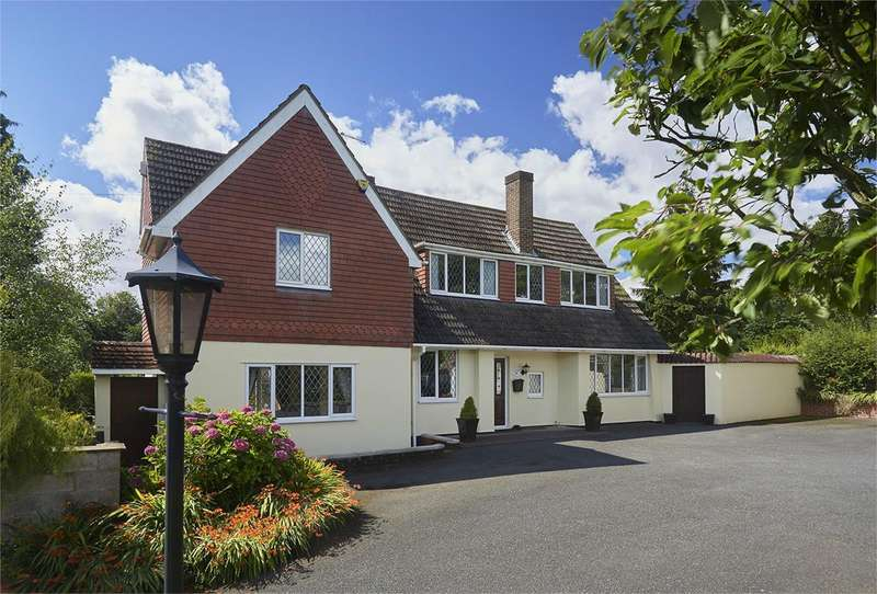 4 Bedrooms Detached House for sale in Badgers Folly, Haughton Village, Shifnal, Shropshire, TF11