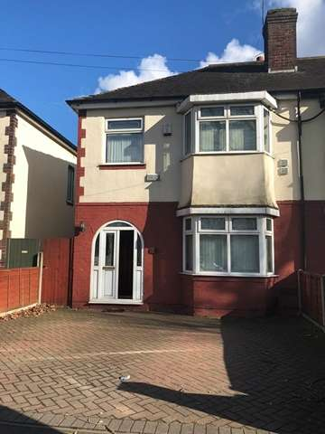 3 Bedrooms Semi Detached House for rent in Trinity Road South, West Bromwich, West Midlands B70 6NF