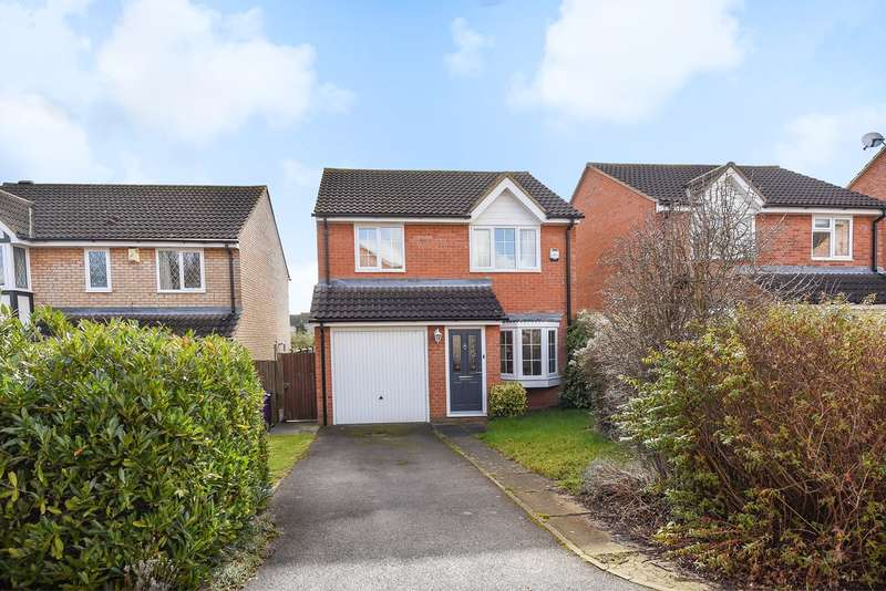 3 Bedrooms Detached House for sale in Gibson Close, Hitchin, SG4