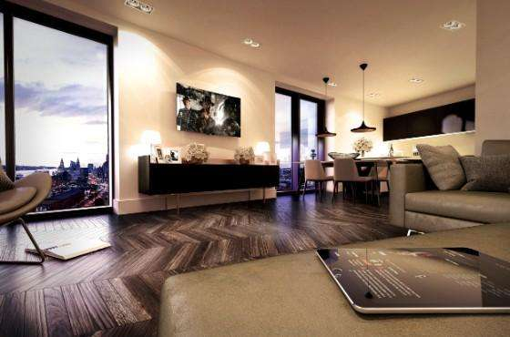 1 Bedroom Property for sale in X1 The Tower Apartments, Liverpool, L8 5RS