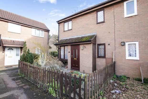 1 Bedroom Cluster House for sale in Copperfields, Luton, Bedfordshire, LU4 0JX