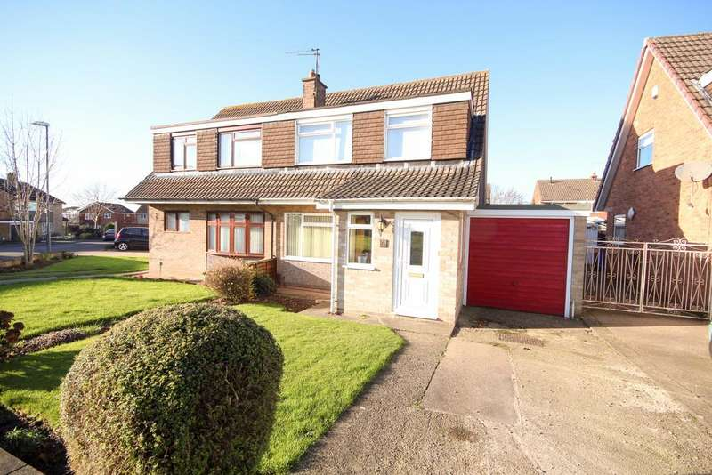3 Bedrooms Semi Detached House for sale in Wigmore Close, Mickleover