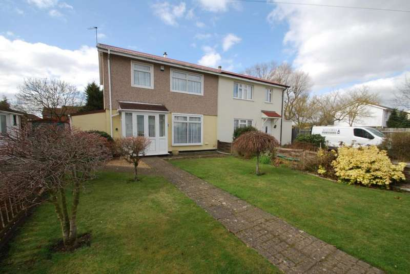 3 Bedrooms Semi Detached House for sale in Saunton Road, Hornchurch, Essex, RM12