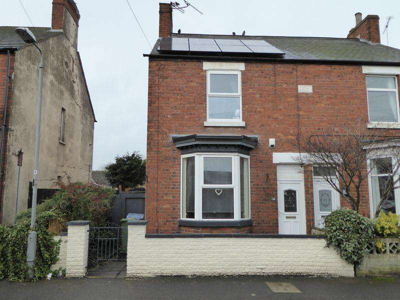 2 Bedrooms Semi Detached House for sale in Wharton Street, Retford