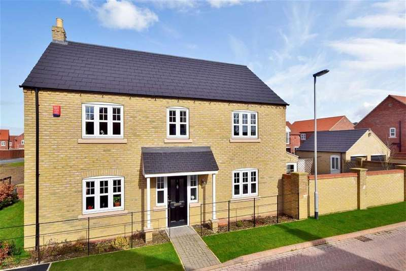4 Bedrooms Detached House for sale in Grafham Drive, Waddington, Lincoln, Lincolnshire