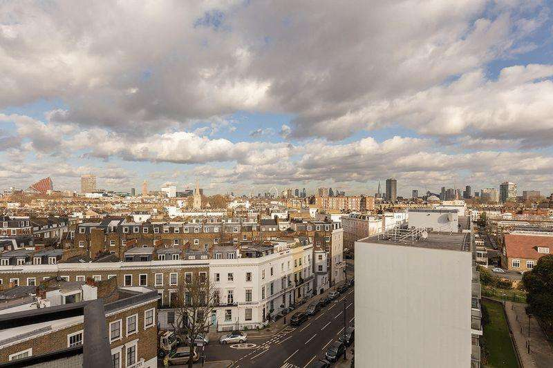 2 Bedrooms Apartment Flat for sale in Churchill Gardens, London