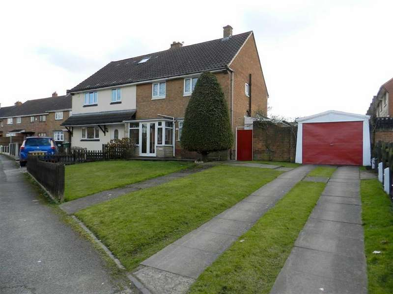 3 Bedrooms Semi Detached House for sale in Pershore Road, Walsall, West Midlands