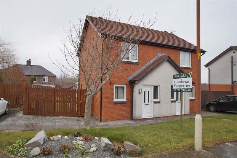 2 Bedrooms Semi Detached House for sale in CA2 7PW Berkeley Grange, off Newtown Road, Carlisle, Cumbria