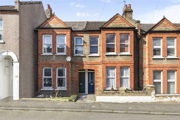 3 Bedrooms Terraced House for sale in Neuchatel Road, London