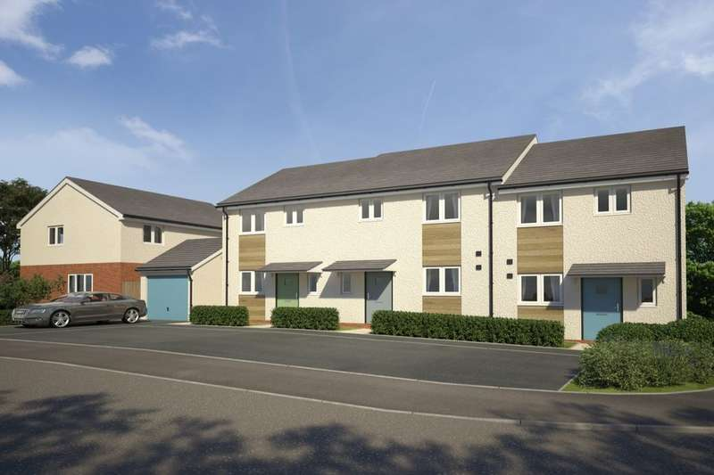 2 Bedrooms Semi Detached House for sale in The Vines Nightingale Close, Plymouth, PL9