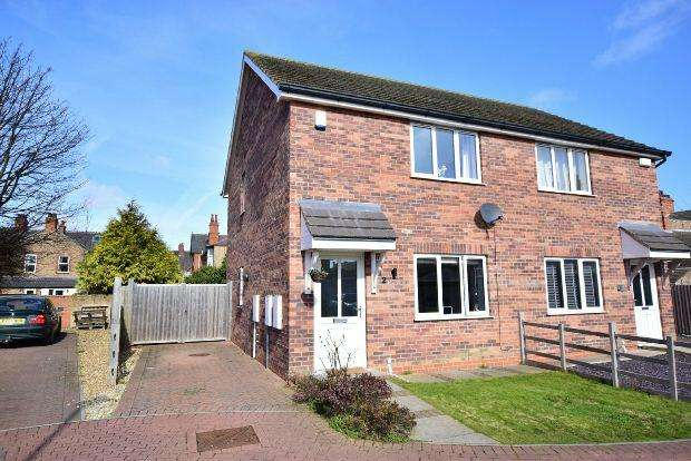 2 Bedrooms Semi Detached House for sale in Maygrove Mews, Cleethorpes