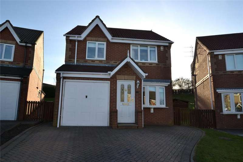 3 Bedrooms Detached House for sale in Garside Grove, Peterlee, Co.Durham, SR8