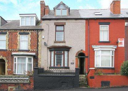 4 Bedrooms Terraced House for sale in Gleadless Road, Sheffield, South Yorkshire