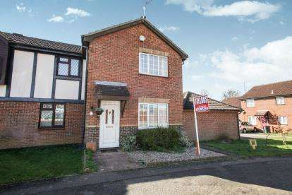 3 Bedrooms Semi Detached House for sale in Coverdale, Luton, Bedfordshire, Leagrave