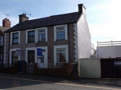 2 Bedrooms Semi Detached House for sale in Caeathro, Caernarfon, Gwynedd, LL55