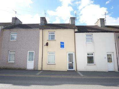 2 Bedrooms Terraced House for sale in Kingsland Road, Kingsland, Holyhead, Anglesey, LL65