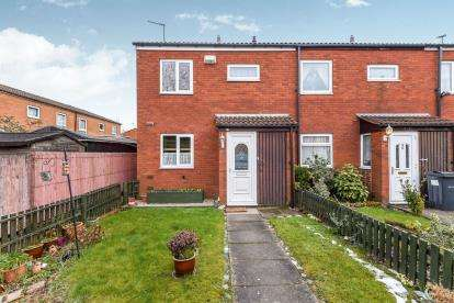 3 Bedrooms End Of Terrace House for sale in Robertson's Gardens, Nechells, Birmingham, West Midlands