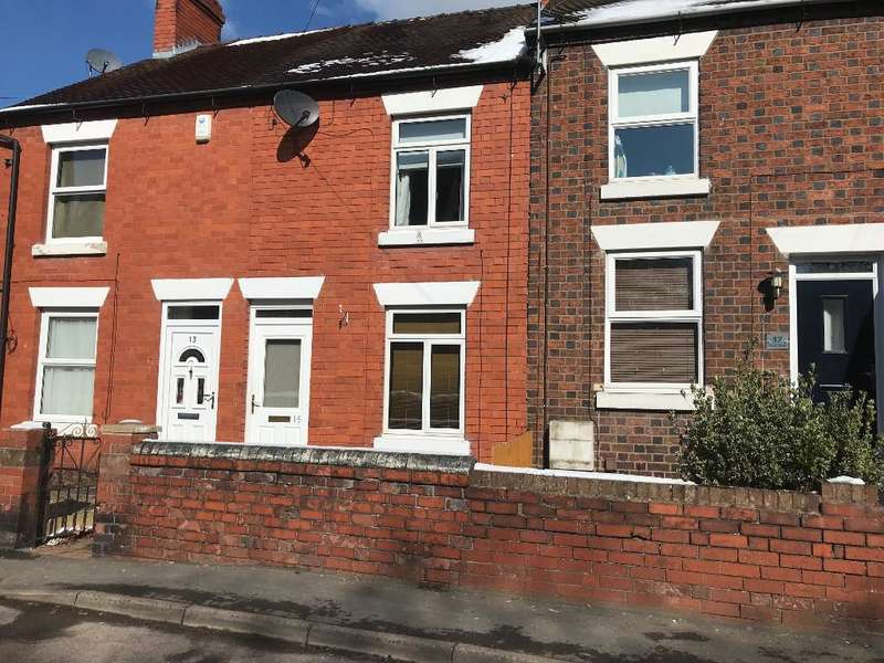 2 Bedrooms Terraced House for rent in Church Street, Hadley, Telford, Shropshire, TF1 5RQ