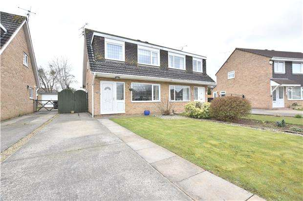 3 Bedrooms Semi Detached House for sale in Palmdale Close, Longwell Green, BS30 9UH
