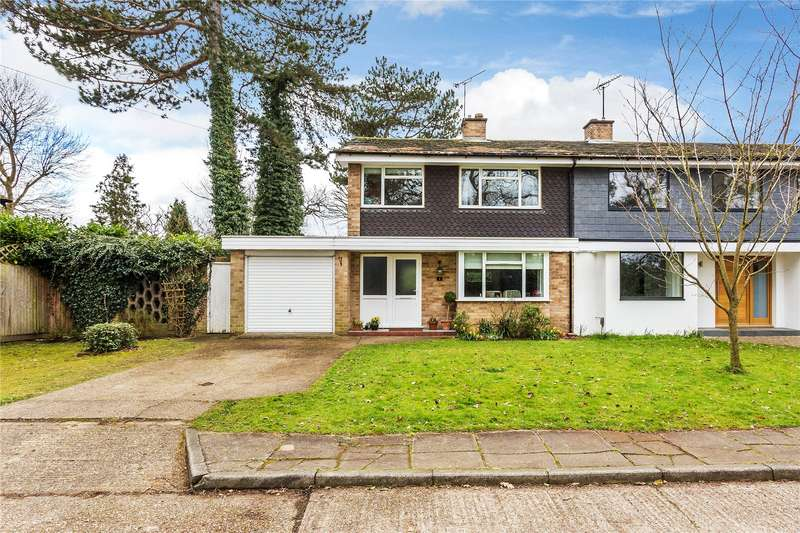 3 Bedrooms Semi Detached House for sale in Ash Close, Pyrford, Woking, Surrey, GU22