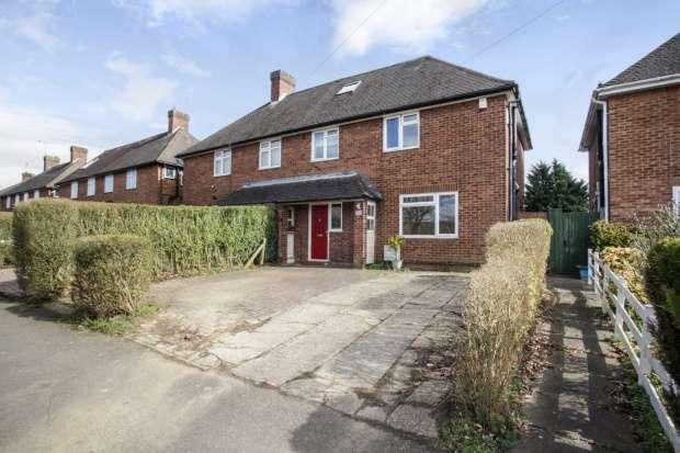 3 Bedrooms Semi Detached House for sale in Hartforde Road, Borehamwood, Hertfordshire, WD6 5JT