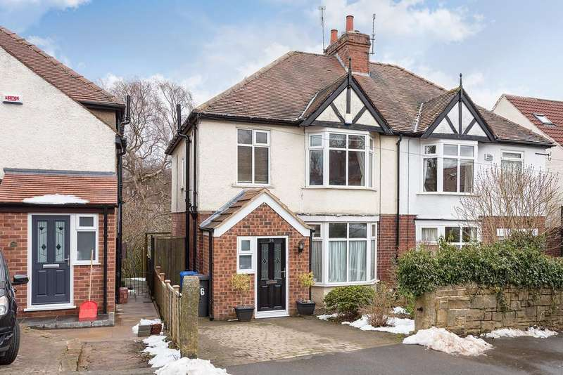 3 Bedrooms Semi Detached House for sale in Brooklands Crescent, Fulwood, Sheffield