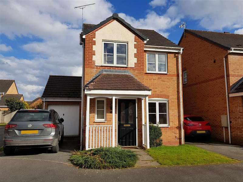 3 Bedrooms Link Detached House for sale in Kyle Road, Hilton, Derby