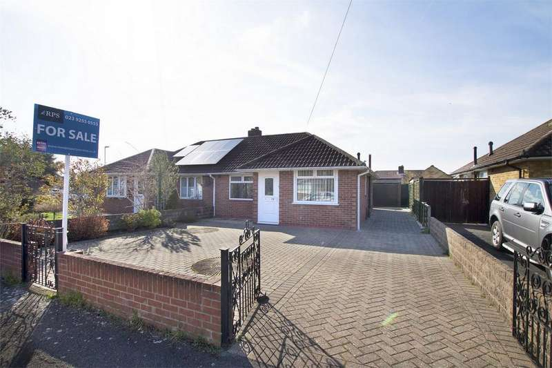 2 Bedrooms Semi Detached Bungalow for sale in Robins Close, Stubbington, Hampshire