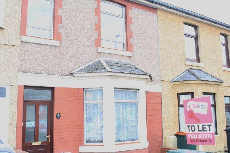 3 Bedrooms Terraced House for rent in Nash Road, Newport