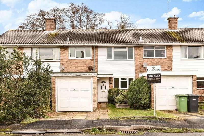 3 Bedrooms Terraced House for sale in Lake Farm Close, Hedge End, Hampshire