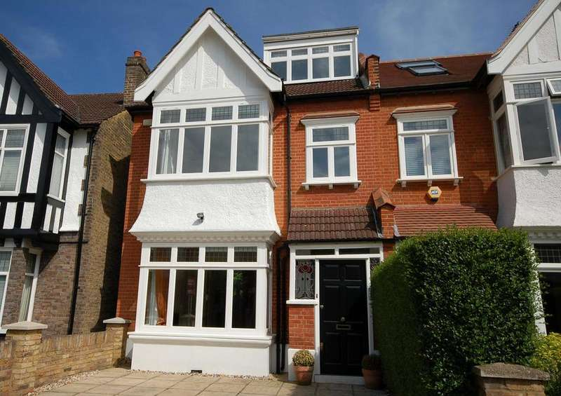 5 Bedrooms Semi Detached House for rent in Madrid Road, Barnes, London