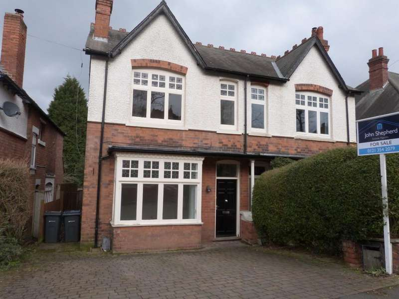 3 Bedrooms Semi Detached House for sale in Maney Hill Road, Sutton Coldfield