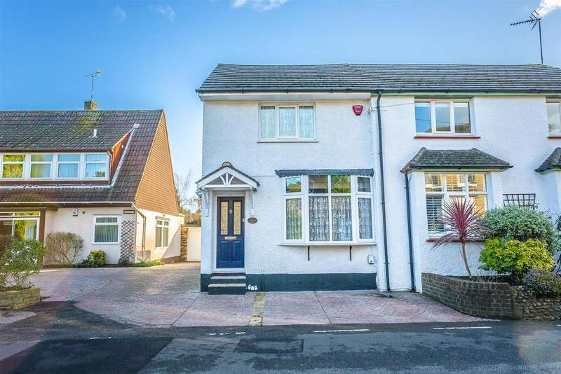 2 Bedrooms Semi Detached House for sale in High Road, Chipstead, Coulsdon