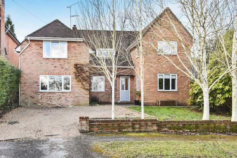 5 Bedrooms Detached House for sale in Fulflood, Winchester, Hampshire