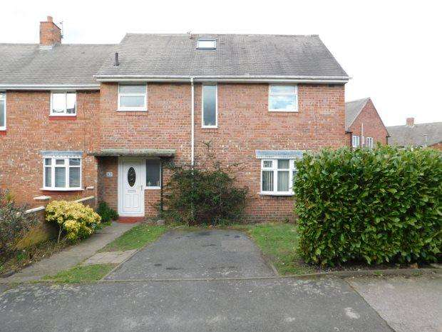 5 Bedrooms Semi Detached House for sale in HEAVISIDE PLACE, GILESGATE, DURHAM CITY