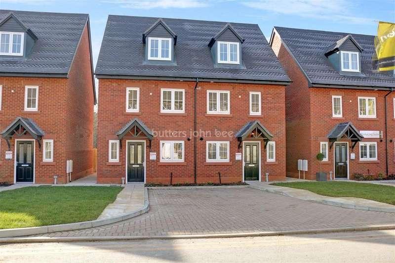 4 Bedrooms Semi Detached House for sale in Off Prestbury Road, Macclesfield