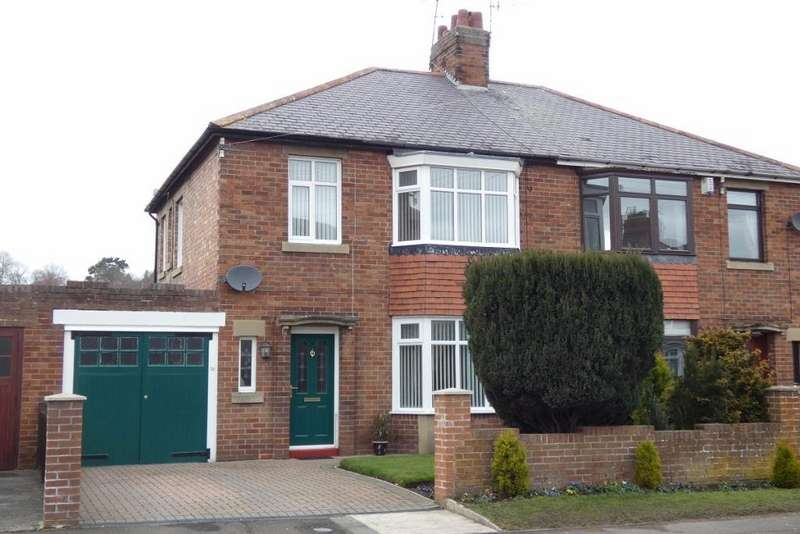 3 Bedrooms Semi Detached House for sale in Mitford Road, Morpeth